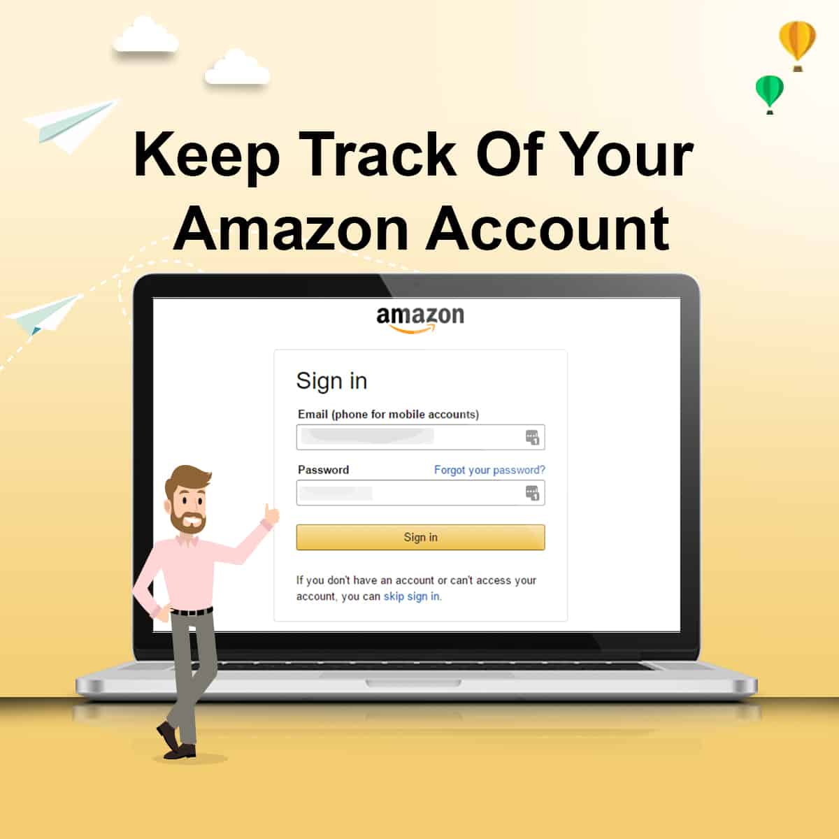 Keep Track Of Your Amazon Account