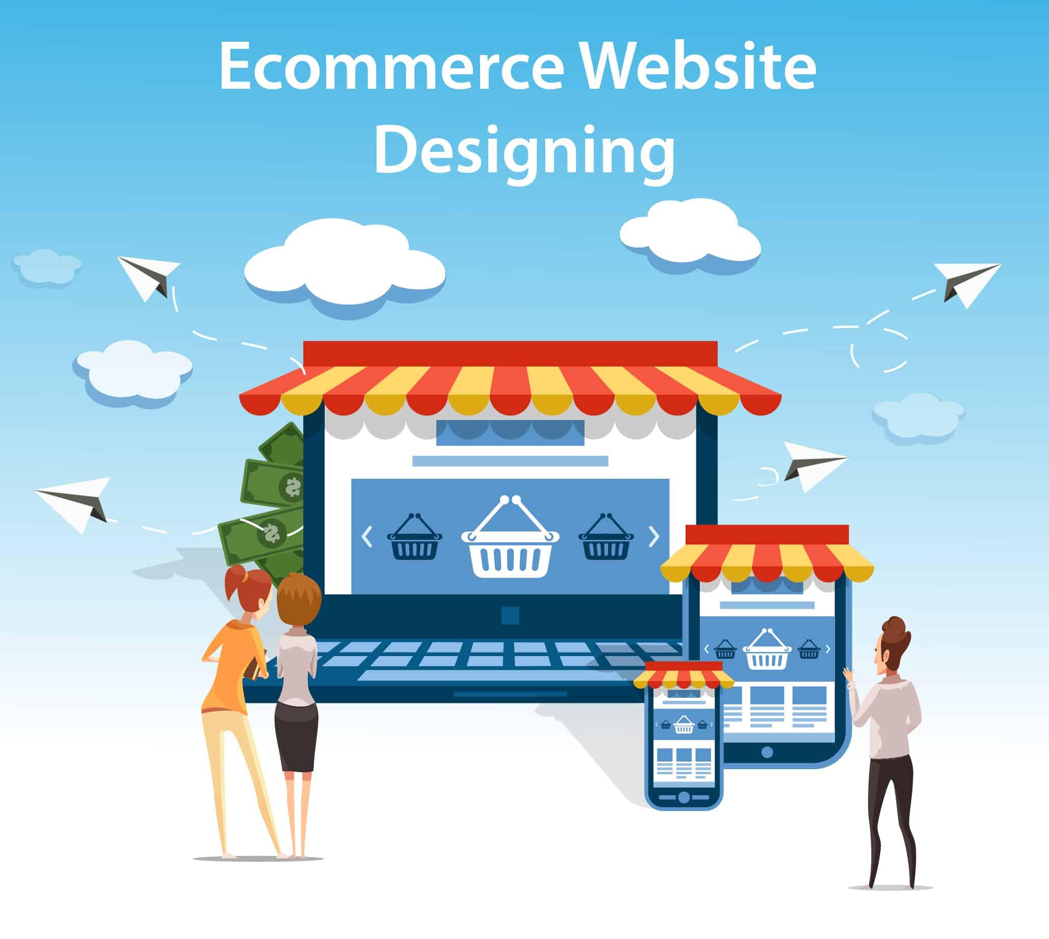 Ecommerce Website Designing,Website Design Services