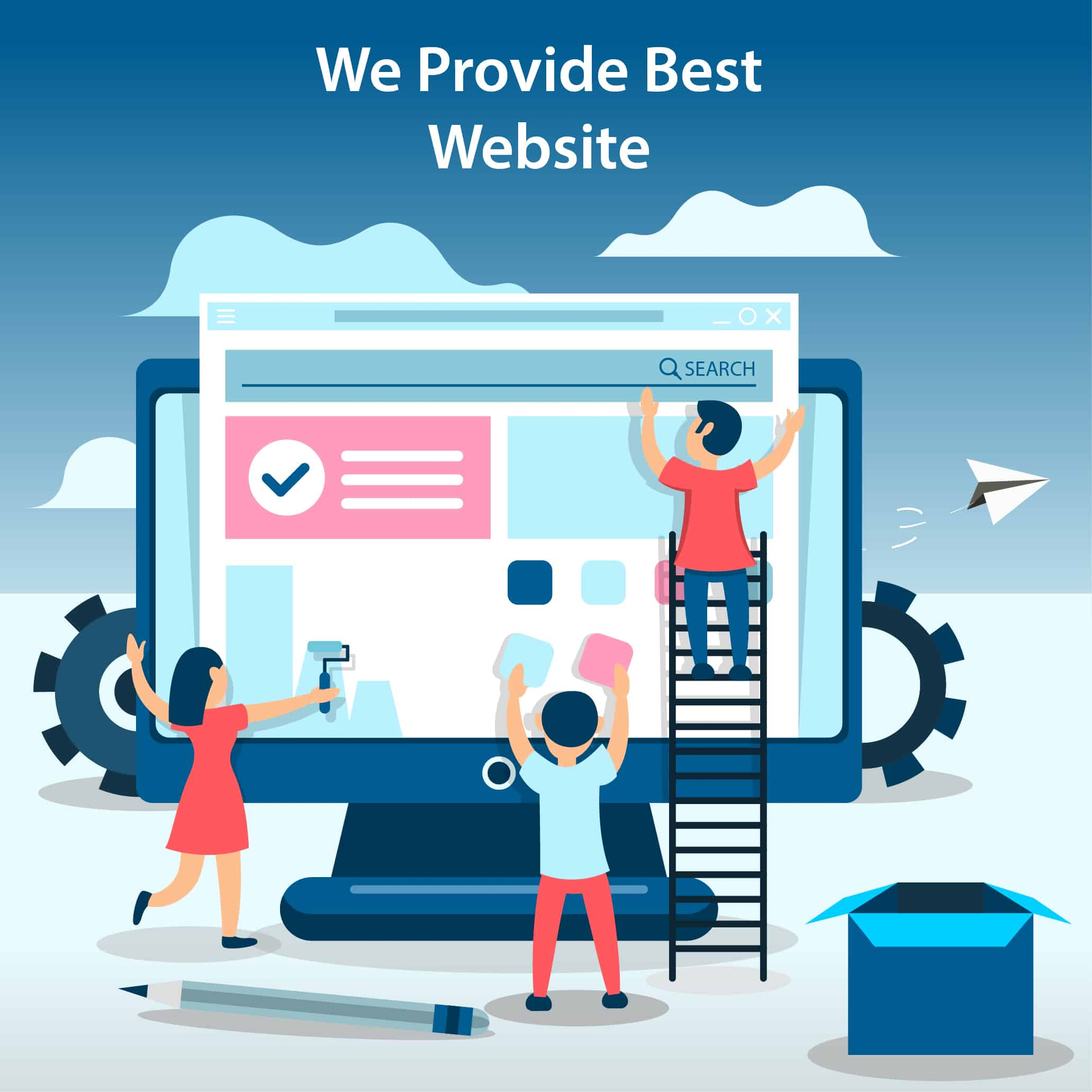 We Provide Best Website Development Solutions