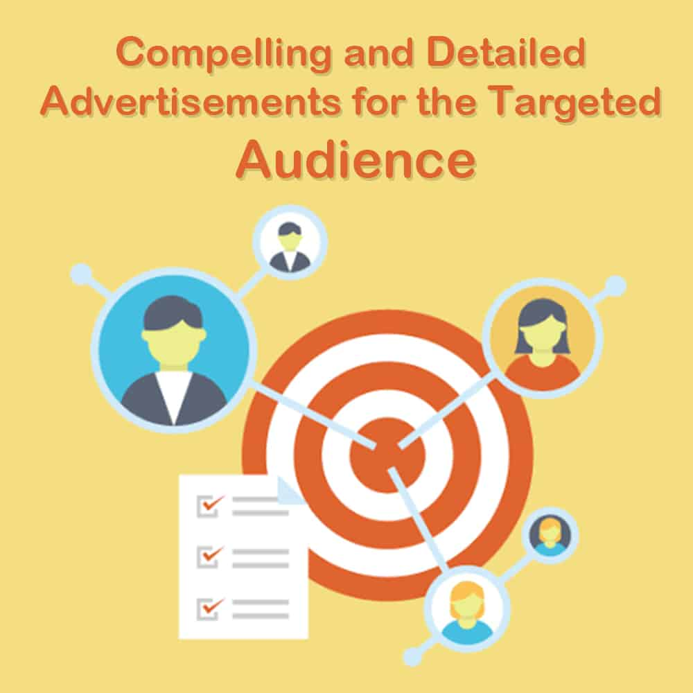 Compelling and Detailed Advertisements for the Targeted Audience